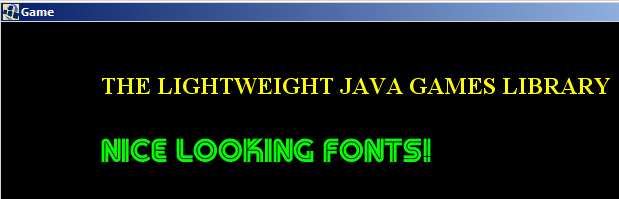 Slick-Util (Part 3) - TrueType Fonts for LWJGL   NinjaCave